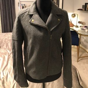 LOFT Wool Quilted Jacket
